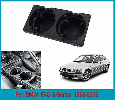 For BMW E46 320i 323i 325i 330i 1998-2006 Front Center Console Drink/Cup Holder