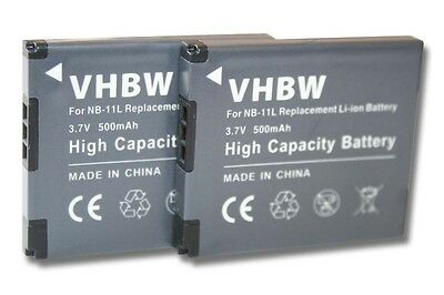 2x Batteria NB-11L per Canon PowerShot SX430 IS