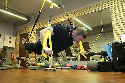 Max  Gym® Suspension Body Trainer. Heavy Band Pro Body MMA Fitness training fly