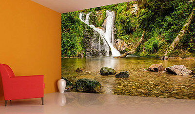 Stone Germany Waterfall Full Wall Mural Photo Wallpaper Print Kids Home 3D Decal