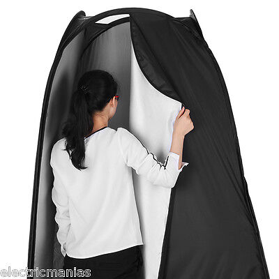 6.2ft Portable Pop Up In/Outdoor Tents Camping Photo Changing Room+Carrying Bag