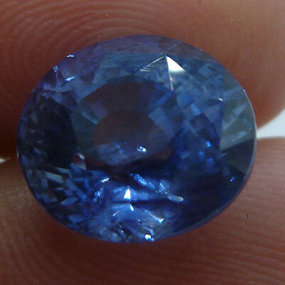 5.16 cts Natural Unheated Earth Mined Blue Sapphire