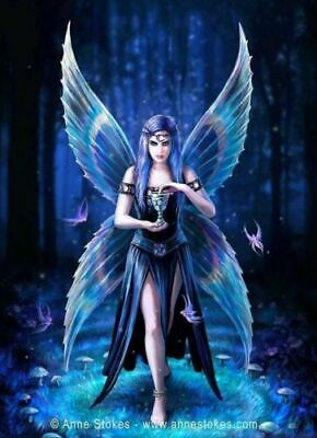 3D CULT FANTASY MOVING PICTURE 300mm x 400mm ANNE STOKES OWL MESSENGER