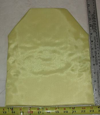 Set (2pcs)10x12 Shooter Cut IIIA 3A Body Armor Plate BulletProof Kevlar Inserts