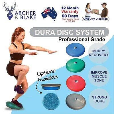 Air Balance dura Disc Cushion Physio Stability Knee Ankle Strength Pilates Rehab