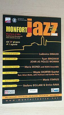 Freecards Cartolina Pubblicitaria - 1021 Monfort In Jazz