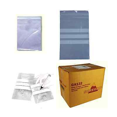 Clear Minigrip Bags / Freezer Bags / Resealable Plastic Bags / Plain Or Write-On