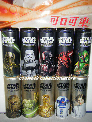 rare Germany STAR WARS SPACE PUNCH 10 cans set empty