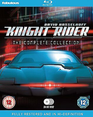 Knight Rider - The Complete Collection: New Blu-Ray Box Set - David Hasselhoff