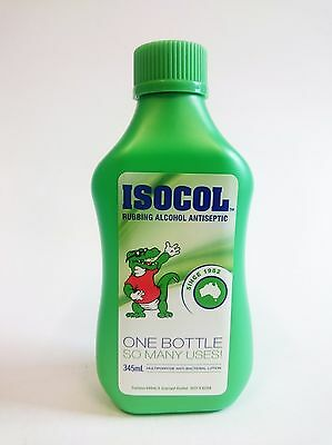 Isocol Rubbing Alcohol Antiseptic Multipurpose Anti Bacterial Lotion - 345ml