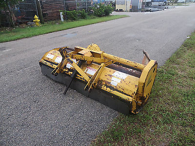 "Alamo 78"" Flail Mower SH78 Tractor Pto Driven 3 pt Hitch Driveshaft end missing"