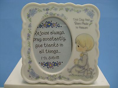 Precious Moments  Communion Boy Praying Photo Frame