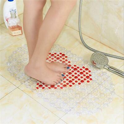 Bathroom Non Slip Anti Skid Pebbles Floor Bath Mat Shower Tub Safety Carpet Rug
