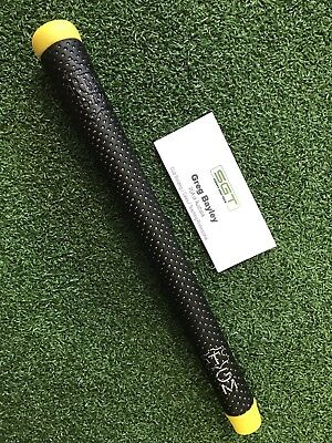 The Grip Master - The Master Leather Golf Grip - Yellow