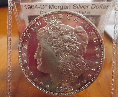 1964-D Proof like Morgan Silver Dollar Daniel Carr Fantasy Issue (High-Grade) PL