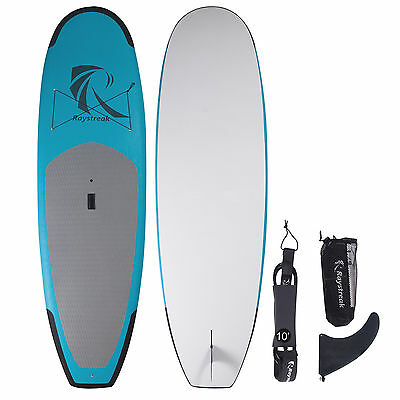 10' Top Stand Up Paddle Board Foam SUP with EVA bumpers and non-slip deck grip 8