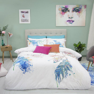 Retro Home Hulu Duvet Doona Quilt Cover Set Single, Double, Queen, King Bed Size