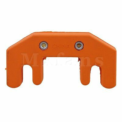 BQLZR Orange Rubber Cello Mute Orange Rubber Practice Mute 70x35x19.5mm