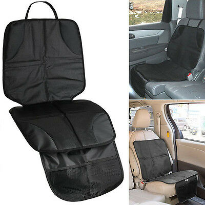 Baby Kids Children Car Booster Seat Protector Easy Clean Safety Mat Cover