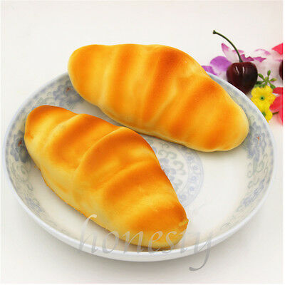 Funny Realistic Artificial Long Bread Fake Food Pretend Bakery Staging Props