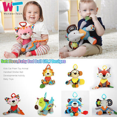 Car Pram Baby Toy Animal Handbell Stroller Bell Developmental Activity Kids Toys