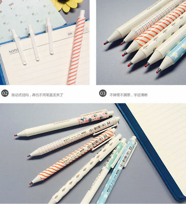 """12 pcs M&G 0.5mm """"Lovely smell"""" style Retractable Gel Pen,Black ink,WF222"""