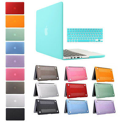 """A1398 Crystal Transparent Case + Keyboard Cover For Apple MacBook Pro Retina 15"""""""