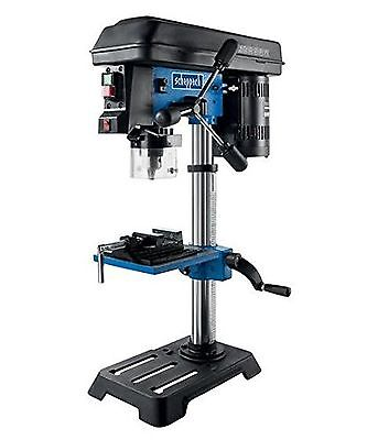 Scheppach DP16SL 240 V Bench Drill with Cross Line Laser and Vice - Blue