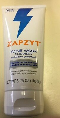 ZAPZYT Acne Wash Cleanser 6.25 oz Exp 2/18