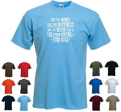 Ford Kuga - Men's Funny Ford Car Gift T-shirt - 'They say Money can't buy ...'