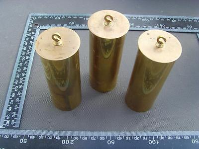 ref14/1:set of three leadfilled Vienna regulator weightsfor triple weighter