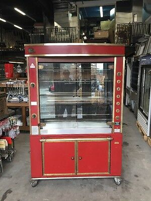 2003 Rotisol France 1350/5 Gas Rotisseire 25/30 Chicken Oven Machine Used