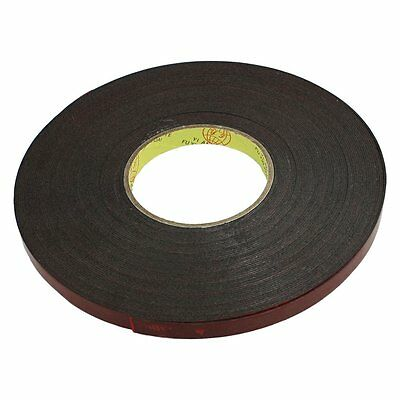 Auto Car Acrylic Foam Double Sided Attachment Tape Adhesive 12mm Wide K8N3