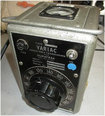Claude Lyons Zenith Variac 3A 10-270V AC Variable transformer With Meter