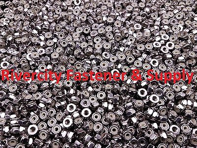 (100) 4-40 Nylon Insert Lock / Stop / Nuts / Nylocks 18-8 Stainless Steel #4