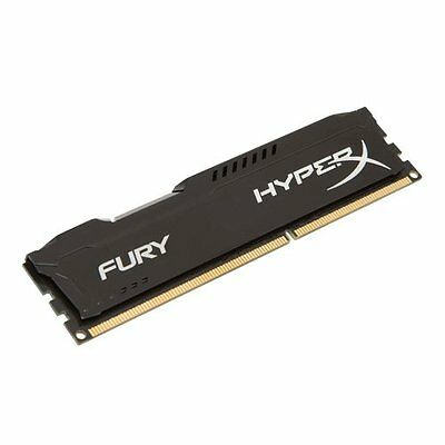 HyperX Fury Black Series Memorie RAM, 4 GB, 1333 MHz, DDR3, Nero