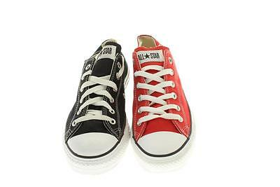Mens Converse  All-Star Multi Color Athletic Shoes 8 M Red/Black