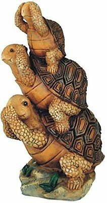 Turtle No Hear/No See/No Speak Evil Collectible Garden Decoration Figurine