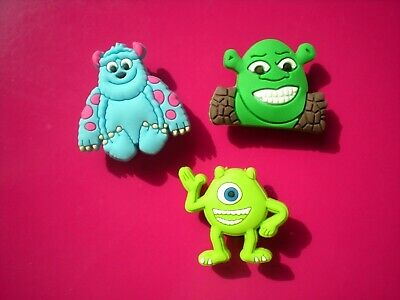Shoe Charm Plug Button Fits Jibbitz WristBand Shrek Compatible W/ Croc Clog Hole