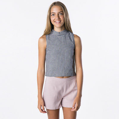 Ava And Ever Girls Ashton Shorts in Pink