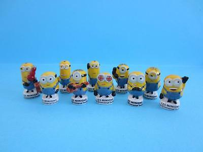 Incredible Miniature Porcelain The Minions Figurine Collection, From 2015 Movie