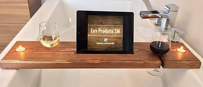 Bath deck, bath wine support, iphone and tablet tray
