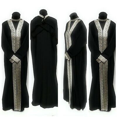 Women open front abaya.dress . saudi abaya japanese Neda/linen.New Arrival 2017