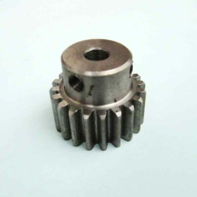 1pc M1 Modulus 20 Teeth Steel Gear 5/6/8/10mm Shaft DIY Motor Transmission Parts