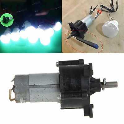 DC Generator Wind Power Dynamo Hydraulic Test 12V 24V Motor