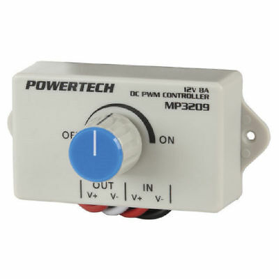 NWA 12VDC 8A Dimmer / Motor Speed Controller
