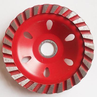 Grinding Wheel Concrete Cup Disc Grit Segment Circle Metal Marble 100mm Red