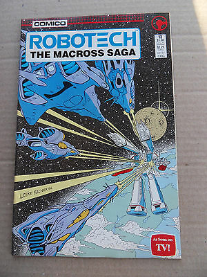 Robotech :The Macross Saga 13 .(TV) Comico 1986 - VF