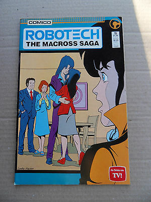 Robotech :The Macross Saga 15 .(TV) Comico 1986 - VF - minus