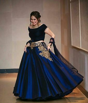 Ethnic PartyWear New Indian Bollywood Pakistani Designer Anarkali Dress Material